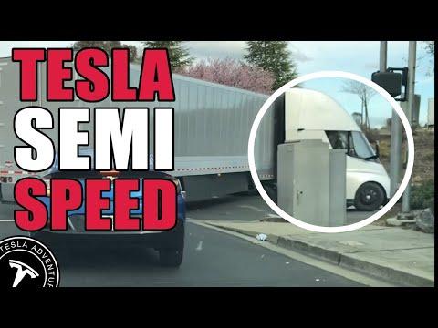 Tesla Semi's Blistering Acceleration (clip) thumbnail