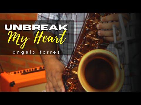 AT Romantic CLASS #13 - UNBREAK MY HEART - Instrumental Saxofone (Angelo Torres)