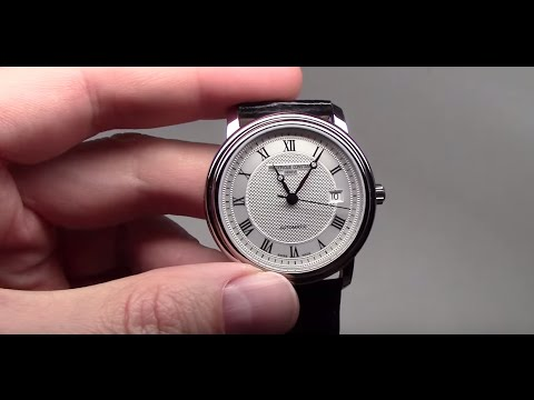 Frederique Constant Classics Automatic Men's Watch Review Ref: 303MC4P6