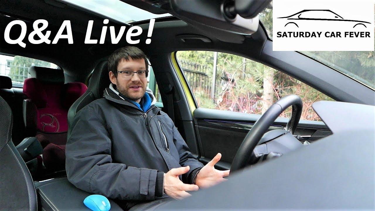 ZAPYTAJ MNIE O CO CHCESZ :) Q&A Live! Auta Prasowe Testy Praca