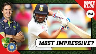 Shubman GILL - the most IMPRESSIVE debutant? | #AskHoggy | Cricket Q\u0026A | #AUSvIND Test Series
