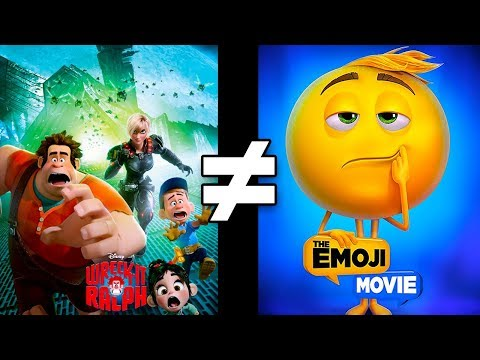 24 Reasons Wreck-It Ralph & The Emoji Movie Are Different