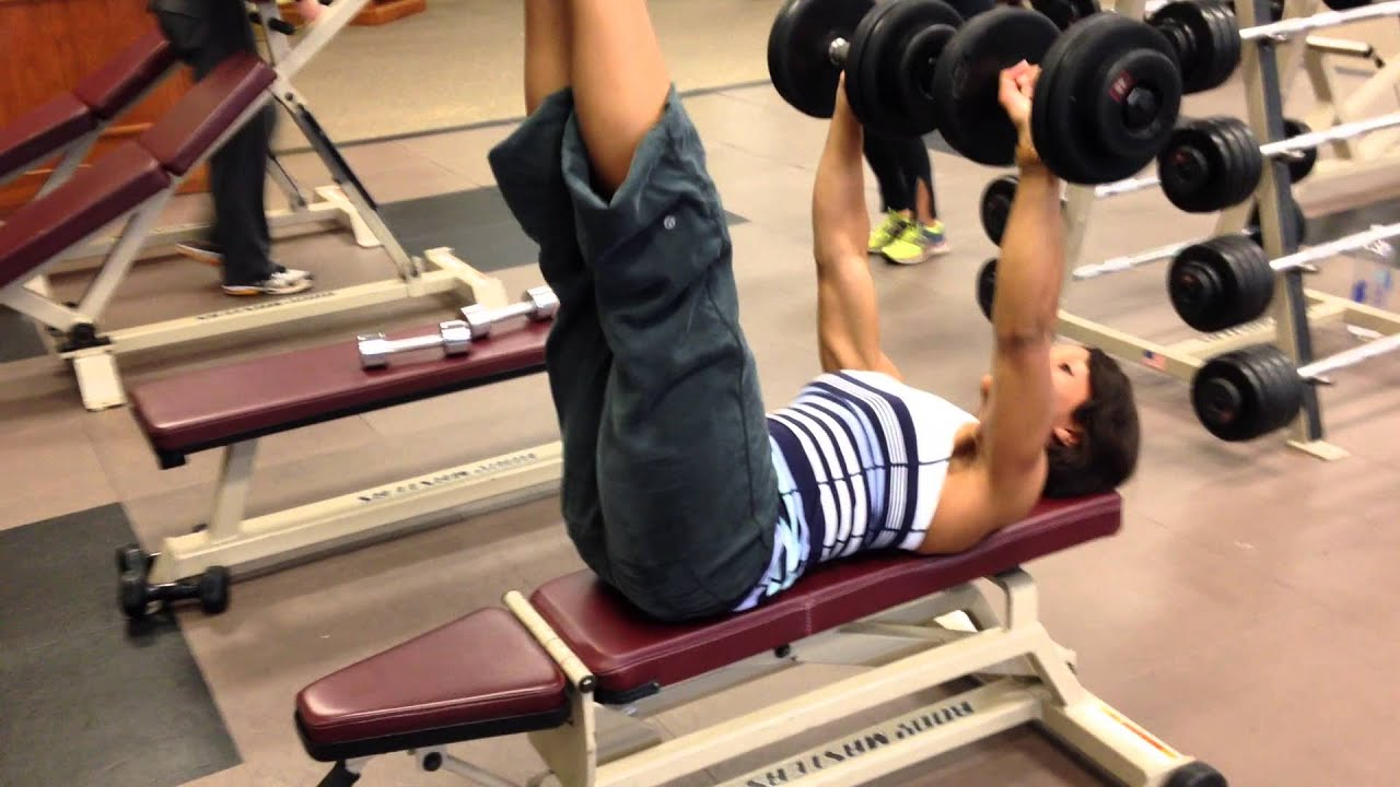 Superior Bench Press Abs Part - 3: Dextriau0027s Bench Press With Abs Exercise