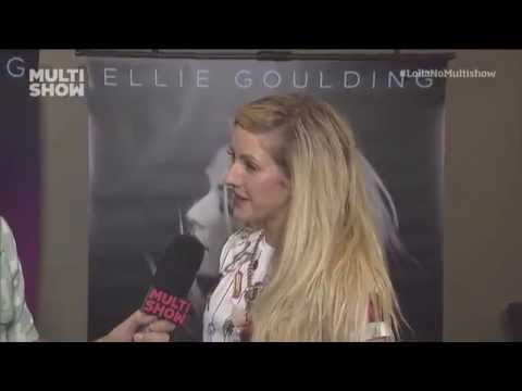 Ellie Goulding interview for Multishow - Lollapalooza Brasil 2014