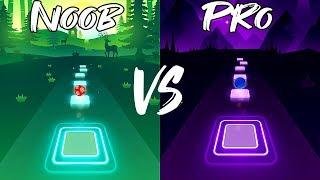 Tiles Hop EDM Rush   TheFatRat - Unity / Noob VS Pro