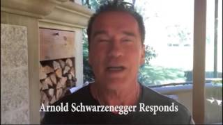 Arnold Schwarzenegger epic response to Trump Apprentice rating diss
