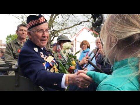 Crowds fill Apeldoorn to honour Canadian liberators