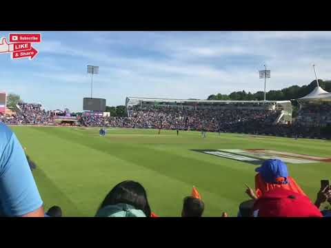 Shami  Hat-trick  | Live Video  india vs afghanistan World Cup Last Over |
