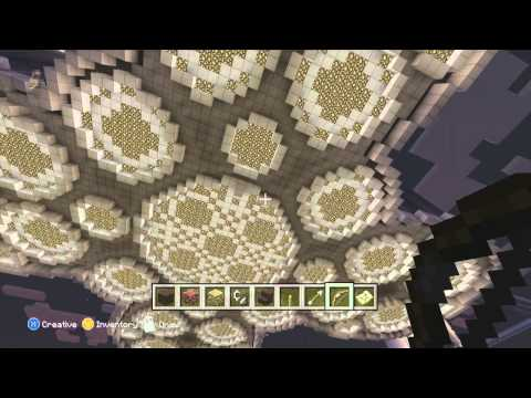 Minecraft Xbox 360 - Floating City Tour - Part 1