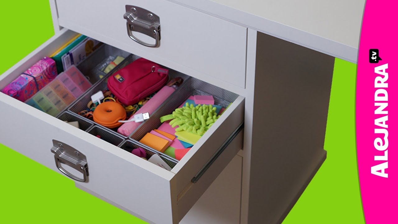 How To Organize Your Desk Drawers Part Of Home Office