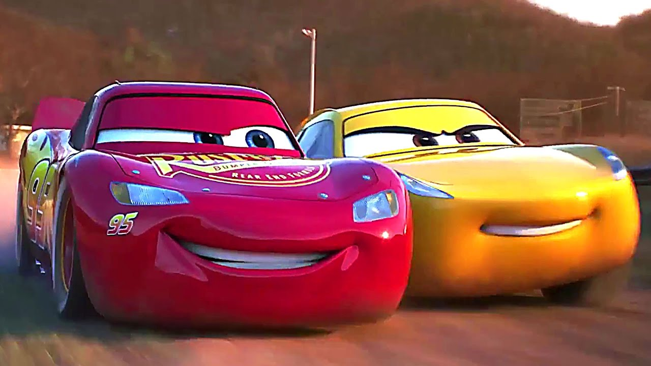 CARS 3 : BEST Video Clips & Trailers (2017) Animation, Kids Movie HD ...