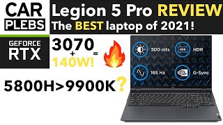 Lenovo Legion 5 Pro REVIEW | RTX 3070 140W & 5800H | the BEST laptop of 2021!