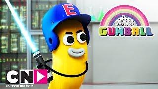 Скачать Удивительный мир Гамбола Лазерный меч Cartoon Network