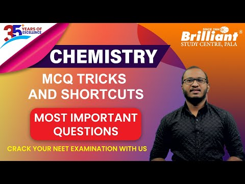 CHEMISTRY | MCQ TRICKS AND SHORTCUTS | Most Important Questions