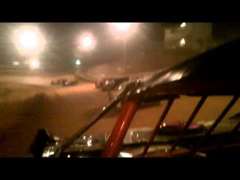Incar Camera Brian Hooks #357 @ Spring City Raceway 9-21-12
