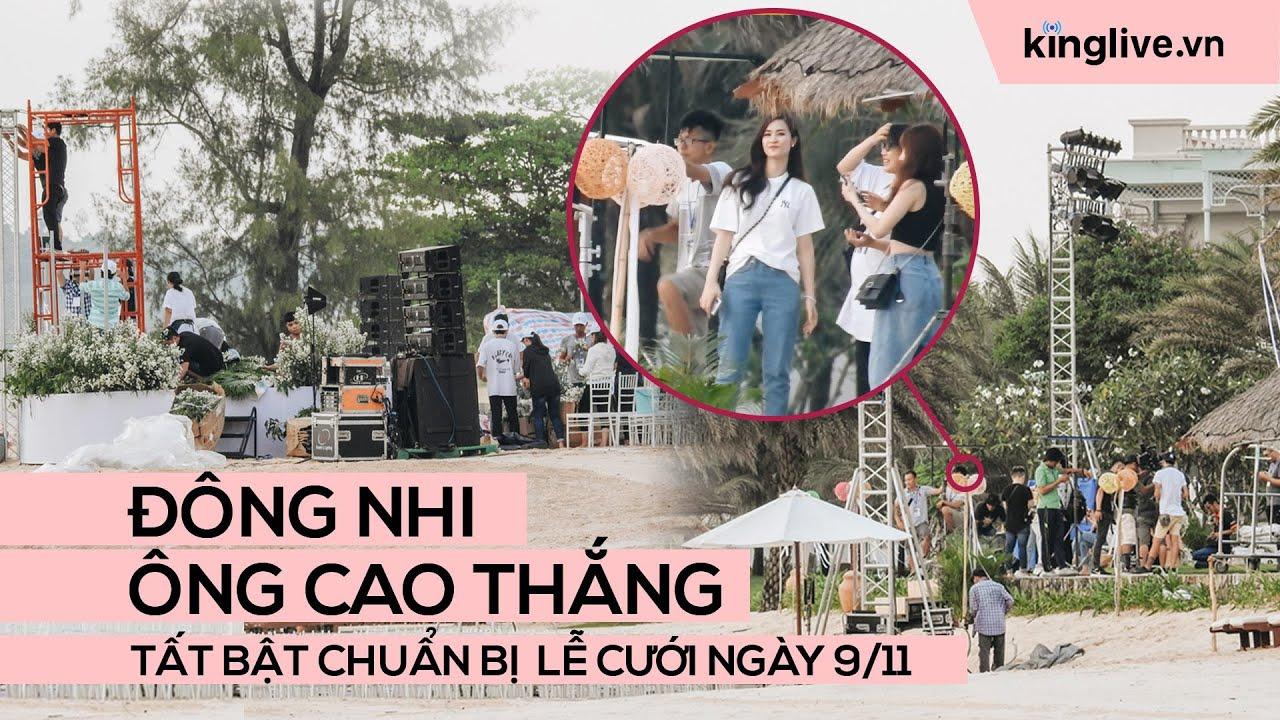 Độc quyền từ Phú Quốc: Đông Nhi - Ông Cao Thắng tất bật chuẩn bị lễ cưới ngày 9/11