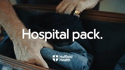 What to Take for an Overnight Stay in Hospital | Nuffield Health