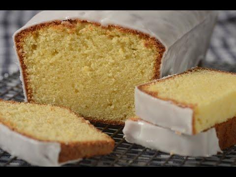 Lemon Frosted Pound Cake Recipe Demonstration - Joyofbaking.com