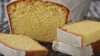 Lemon Frosted Pound Cake Recipe