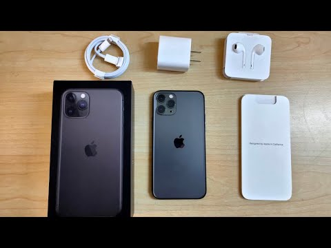 IPhone 11 Pro Unboxing And First Look