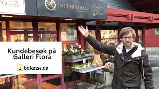 Kundebesøk på Galleri Flora