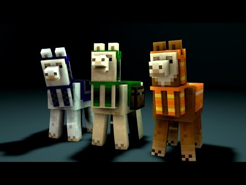 minecraft-tutorial-:-how-to-tame-and-ride-a-llama