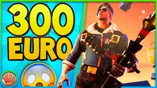 THIS SKIN COSTS 300 EURO!! THIS IS WHY!! -Fortnite: Battle Royale