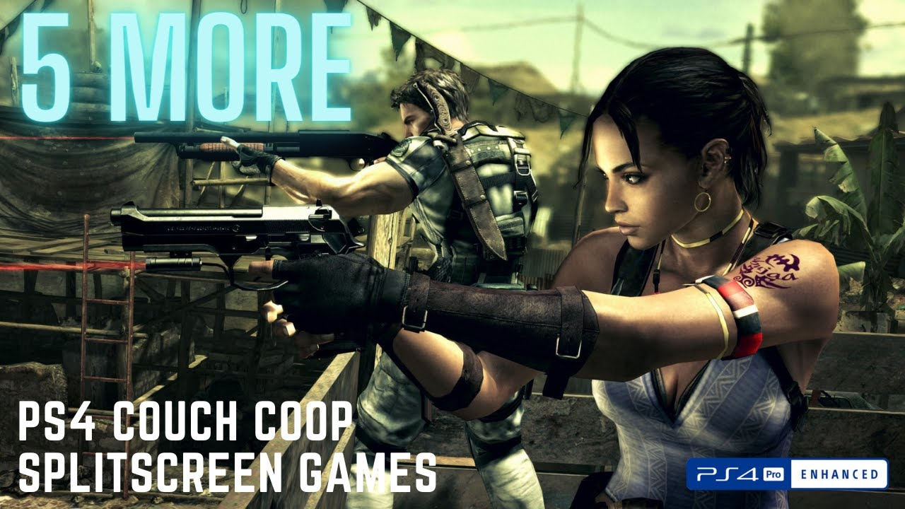 5 More Awesome Splitscreen And Couch Co-Op PS4 Games