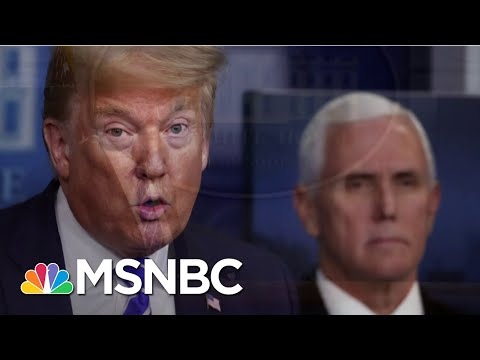 President Donald Trump To Shift The Focus Of His Daily Press Briefings | Deadline | MSNBC