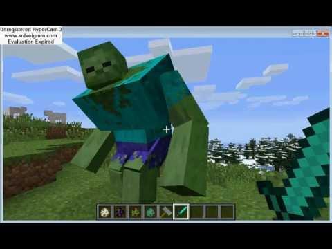 hoe krijg je een giant zombie in minecraft ...