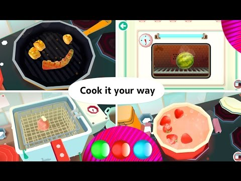 Free Cooking Games For Girls   Toca Kitchen 2   Best Cooking Games For  Android, IPad U0026 IPhone
