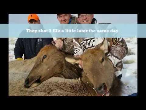 2016 Wood River Ranch Meeteetse Wyoming Late Season Cow Elk Hunt