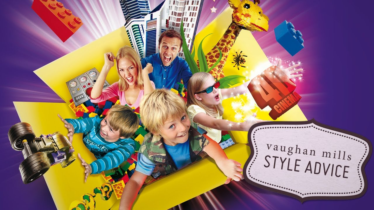 LEGOLAND Discovery Centre now at Vaughan Mills - YouTube