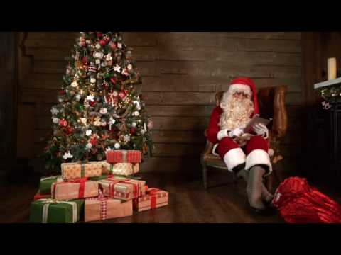 make this Christmas promo video with Santa Claus