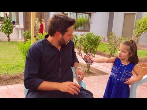 Shahid Afridi In Real Life in his Village : Lala Ka Mahaz 2016