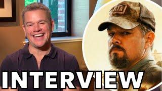 Matt Damon Talks STILLWATER, Looks Back On GOOD WILL HUNTING 25 Years Later