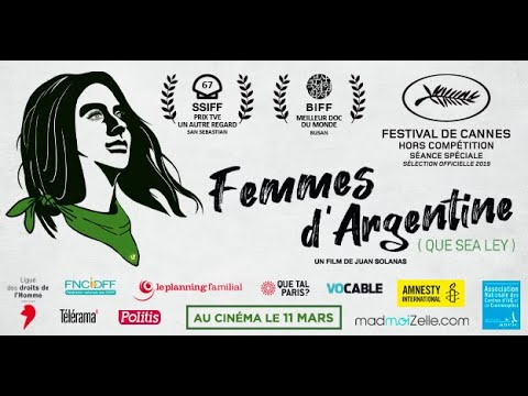 FEMME D'ARGENTINE (QUE SEA LEY) - Bande-annonce