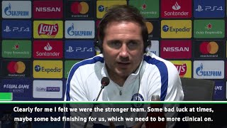 Frank Lampard: We were the stronger team in the UEFA Super Cup Final