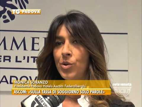 PADOVA TG - 24/11/2015 - ASCOM: «SULLA TASSA DI SOGGIORNO SOLO ...