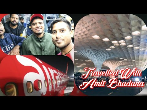 Mumbai To Delhi Flight By AirAsia