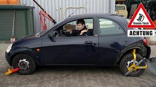 Kann man trotz Parkkrallen fahren? | Dumm Tüch