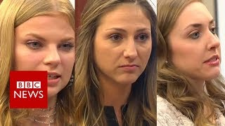 Dozens of women describe abuse by ex-doctor Larry Nassar - BBC News
