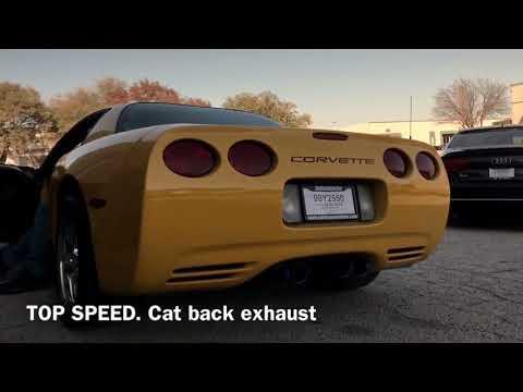 Chevrolet Corvette C5 Base & Z06 Top Speed Pro-1 Titanium Exhaust System with Lip Spoiler