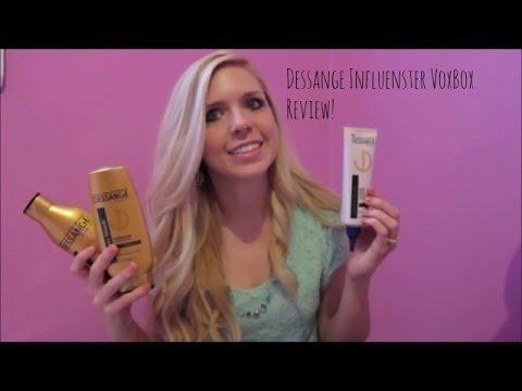 Dessange Blonde Collection Influenster VoxBox Review!