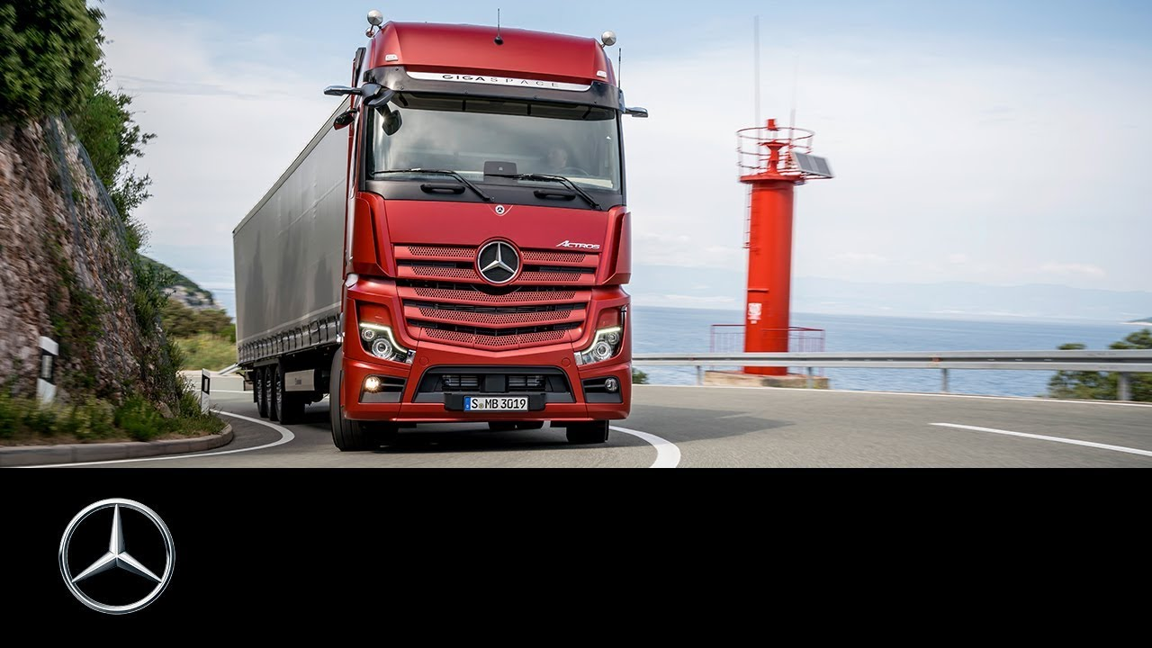 The new Mercedes-Benz Actros 2019 | Trailer