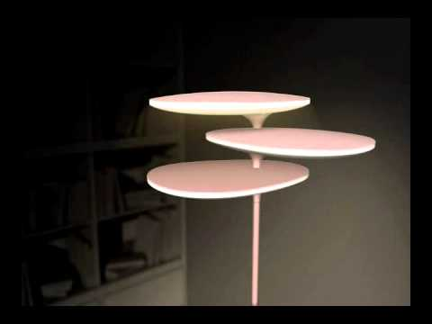 Staande lamp led leeslamp vloerlamp coral reef youtube