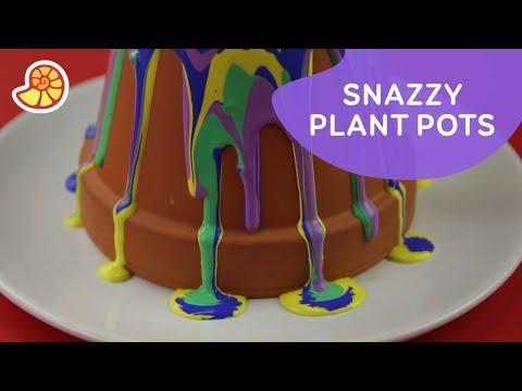 DIY Plant Pot Art | Crafty Art