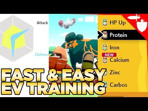 How to EV Train FAST & EASY, And Why You Want To! - Pokemon Sword and Shield
