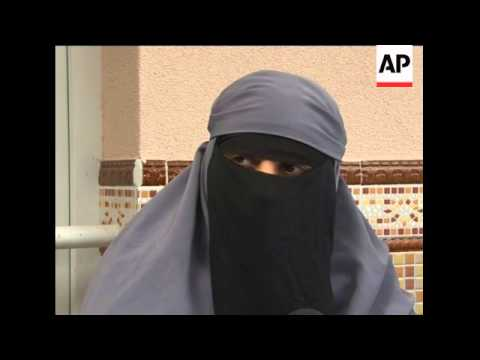 Justice Min presents bill banning Muslim veils that cover the face