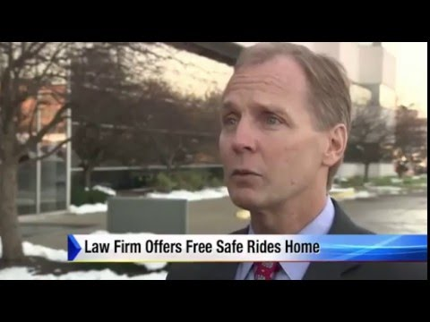 Christensen Law Safe Ride Home Program for Thanksgiving Eve on WDIV Detroit